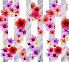 Flowers and Stripes 3 by cafelab