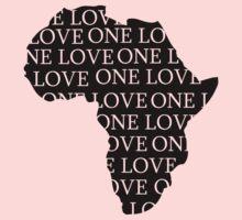 AFRICA ONE LOVE Kids Tee