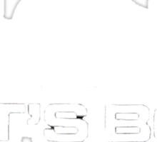 Lets Box - Subaru Boxer engine (Black) Sticker