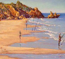 'Winter Fishing, Jan Juc' by Helen Miles
