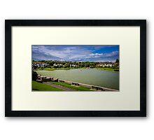 Cold Knap Lake Framed Print