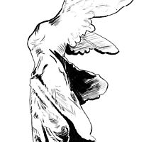 Winged Victory of Samothrace by Rima Salloum