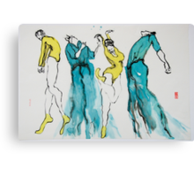 4 Dancers Canvas Print