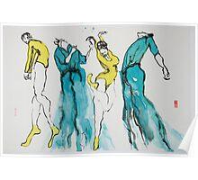 4 Dancers Poster