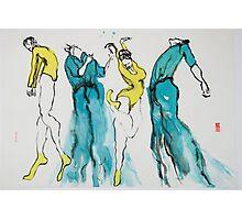 4 Dancers Photographic Print