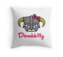 Dovahkitty Throw Pillow