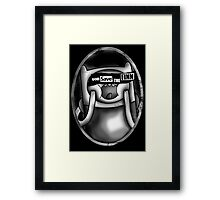 God Save the Finn Framed Print