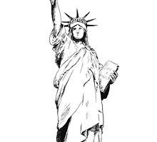 Lady Liberty by Rima Salloum