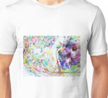 FASHION LADY AND DEATH UNDER A TREE Unisex T-Shirt