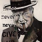 According to Churchill, by Elmedin Zunic by Smith Street Lofts Various Artists