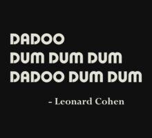 Leonard Cohen The Answer by NostalgiCon