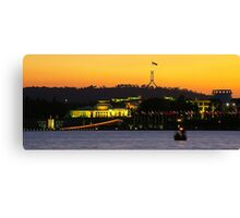 National Capital Canvas Print