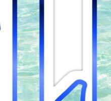 F1J1 WAT3R Sticker