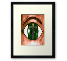 EASTER WITNESS Framed Print