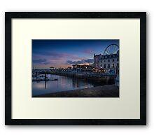 Torquay Sunset Framed Print
