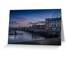 Torquay Sunset Greeting Card