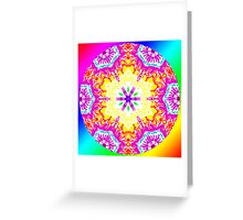 Rainbow Warriors Mandala 1 Greeting Card