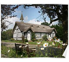 Thatched Church Poster