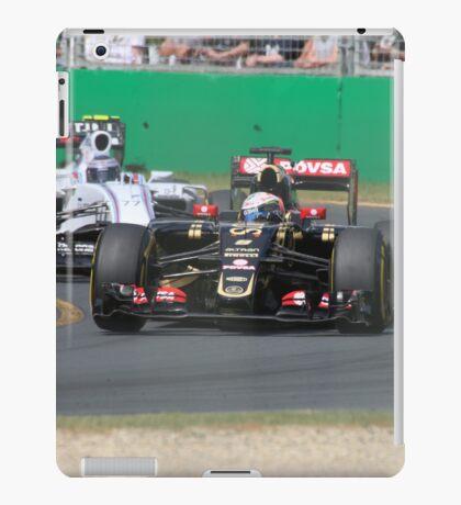 Romain Grosjean  & Valtteri Bottas iPad Case/Skin