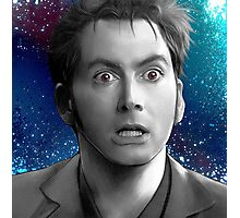 10th Doctor - Doctor Who Photographic Print