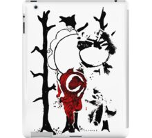 Abstract Stencil  iPad Case/Skin