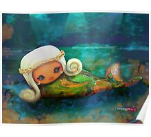 CHUNKIE Mermaid Poster