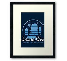Land of OOO Framed Print