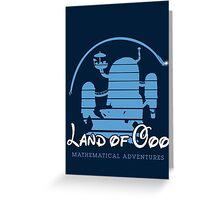 Land of OOO Greeting Card
