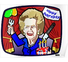 Thatcher's Birthday Poster