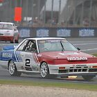 Jim Richards Flame Throwing Nissan Skyline by Stuart Daddow Photography