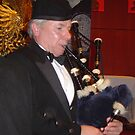 Bag Pipe Player by satsumagirl