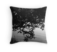 Myterious Mangrove Throw Pillow