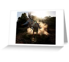 Dust Buster Greeting Card