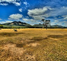 Sunburnt Country - Halls Gap - Grampians National Park - The HDR Experience by Philip Johnson