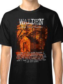 Walden by Henry David Thoreau Designs Classic T-Shirt