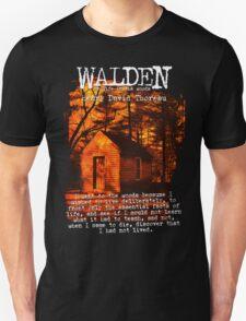 Walden by Henry David Thoreau Designs Unisex T-Shirt