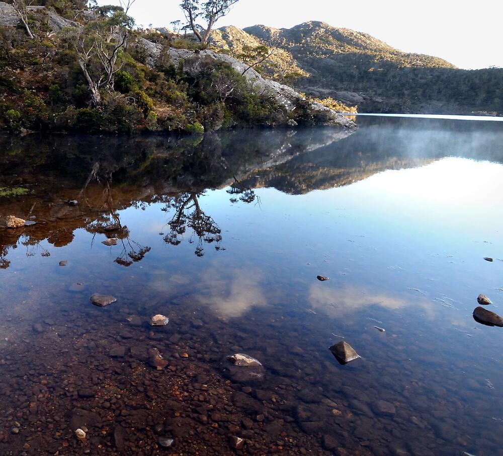 Christmas morning Lake Rodway #2 by John Shortt-Smith