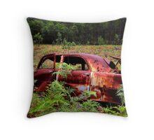The Getaway Car Throw Pillow