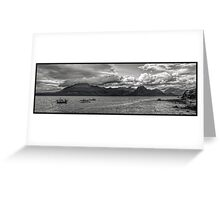 The Cuillins of Skye. Greeting Card