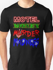 The Doors LA Woman Motel Money Murder Madness Design T-Shirt