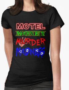 The Doors LA Woman Motel Money Murder Madness Design Womens Fitted T-Shirt