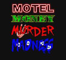 The Doors LA Woman Motel Money Murder Madness Design T-Shirt