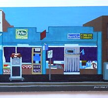 Burnley Street Milk Bar by Joan Wild