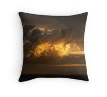 Caribbean Sky Throw Pillow