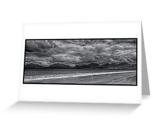Luskentyre Beach on the Isle of Harris, Scotland Greeting Card