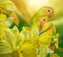 Love Among The Daffodils by Carol  Cavalaris