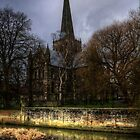 Saint Cuthberts Church by Andrew Pounder