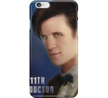 11th Doctor -Doctor Who iPhone Case/Skin
