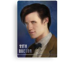 11th Doctor -Doctor Who Canvas Print