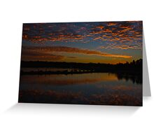 Coombabah Sunrise Greeting Card